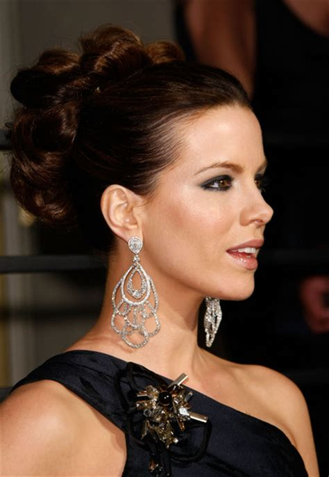 Kate Twisted by More Pics Of Kate Beckinsale Twisted Bun 13 Of 18