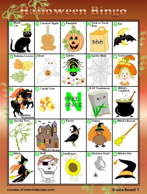 printable halloween bingo cards with pictures 21 sets of free printable halloween bingo cards
