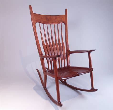 sculpted rocking chair  william ng school  fine