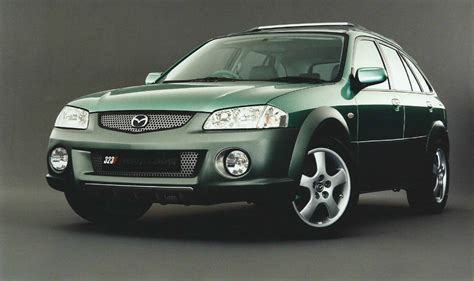 what country made mazda mazda 323 country concept bj 1998