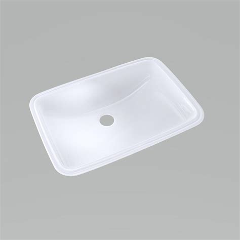toto undermount bathroom sink toto 19 in undermount bathroom sink with cefiontect in
