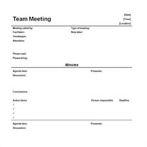 Meeting Minutes Template Microsoft Word by 11 Microsoft Word Minute Templates Free Free