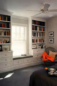 Bookcase With Window Seat 15 Stylish Built In Reading Nooks Home Design And Interior
