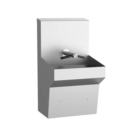 wall mounted wash sink wall mounted tap trough sink featuring the dyson airblade