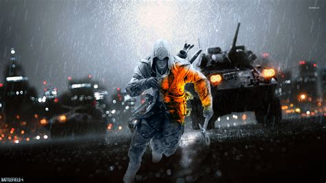 wallpaper game battlefield 4 connor battlefield 4 crossover wallpaper game