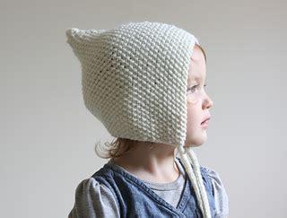 pixie hat knitting pattern free ravelry baby pixie bonnet pattern by hilary frazier