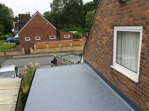 Marple Garage by Bm Joinery Flat Roofing Specialist In Marple Stockport Uk