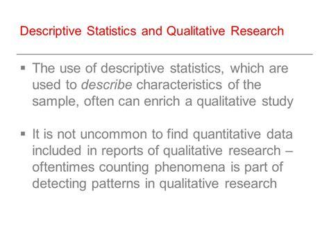 pattern analysis in qualitative research sowk 6003 social work research week 10 quantitative data
