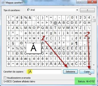 html lettere accentate come digitare le lettere accentate maiuscole con windows