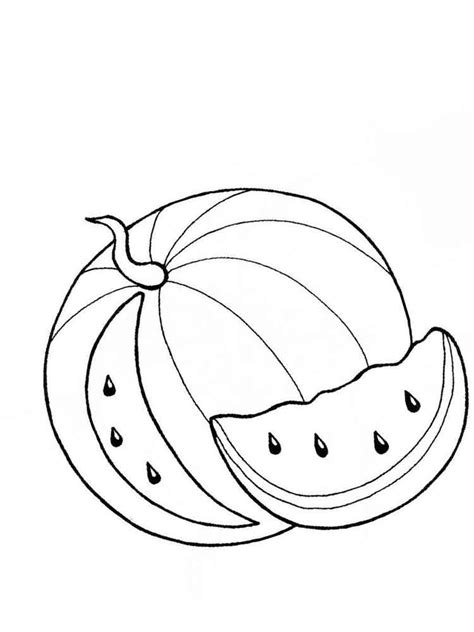 coloring pages for watermelon watermelon coloring pages and print watermelon
