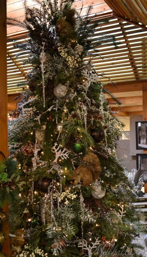 nature themed christmas tree 7 best theme tree images on themed trees woodland