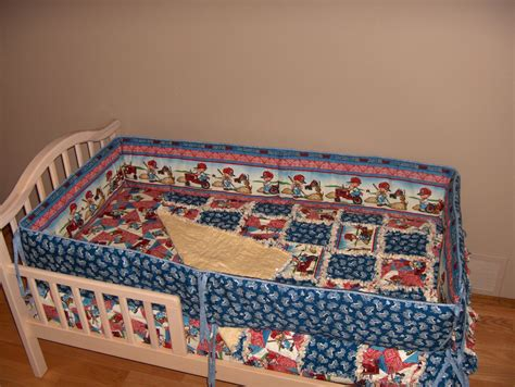 international bedding international harvester farmall crib bedding set rag quilt