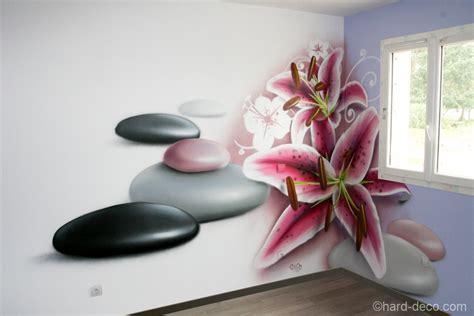 zen decoration deco murale chambre design chambre zen fleur de lys et