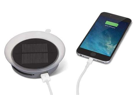 solar portable charger   suction cup works   windows gadgetsin