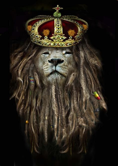 r lion crowned dread locks collage pankrena flickr