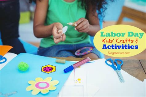 Labor Of The Craft And - free labor day patriotic crafts activities