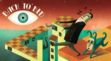 back to bed game back to bed a new video game inspired by the surreal artwork of escher dali