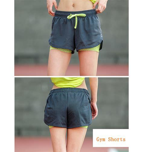 Celana Pendek Olahraga Wanita Sport Fitness Running Shorts celana pendek olahraga wanita tight sport fitness running size s black jakartanotebook