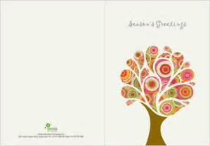 corporate greeting card design