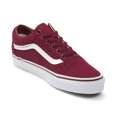 Vans Skool Maroon Paper Bag vans skool skate shoe 498742
