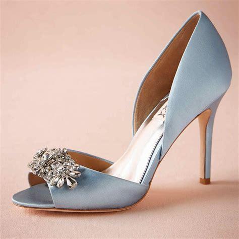 light blue bridal shoes light blue wedding shoes made to order wedding pumps satin