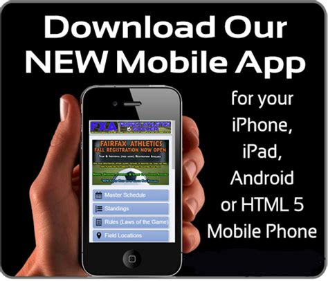 new app mobile fxa social sports northern va s largest sports