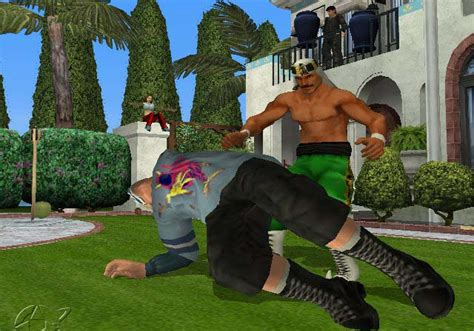 backyard wrestling video game backyard wrestling don t try this at home screenshots