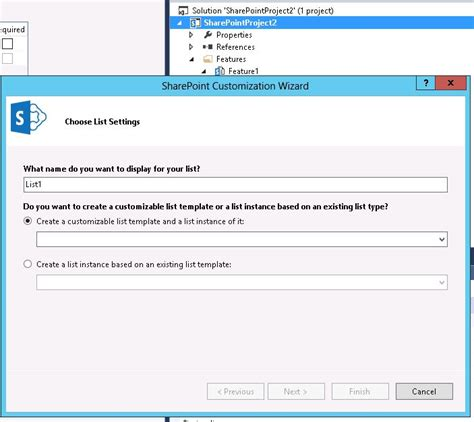 list template in sharepoint 2013 missing sharepoint list template in visual studio 2013