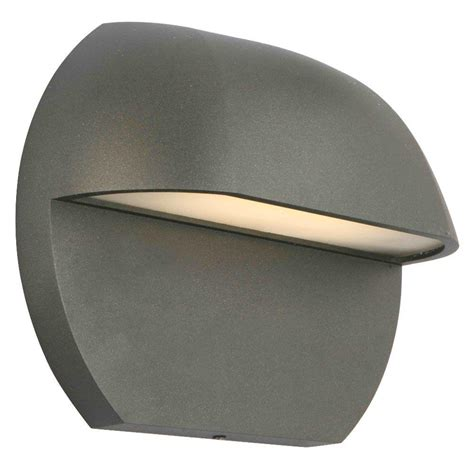 Deck Lighting Fixtures Hton Bay Low Voltage Black Outdoor Integrated Led Surface Mount Light Iyr2601l 2 The Home Depot