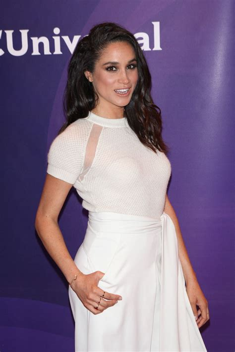 meghan markle meghan markle at nbc summer press day in new york