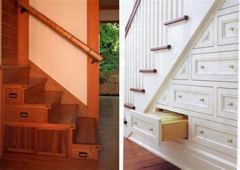 Treppe Mit Schubladen by 60 Stairs Storage Ideas For Small Spaces Your