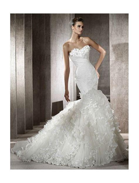 mermaid wedding dress 16 amazing mermaid wedding dresses