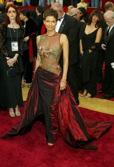 Frock Horror Of The Week Halle Berry by Image Fashion Galleries Telegraph