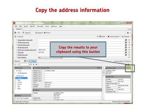 Paf Address Finder Uk Addresses Powered By Paf