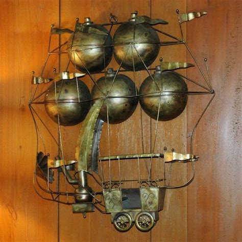 steam punk home decor brass steunk airship steunk home decor