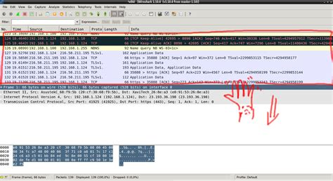 wireshark tutorial linux command line wireshark shows no packets list stack overflow