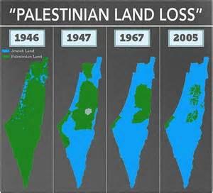 de bedrieglijke kaarten verlies palestijns land