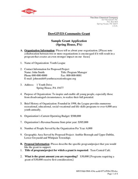 Education Grant Cover Letter Sle Request For Cover Letter Dowgives Community Grant Sle Chainimage