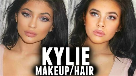 how to do kylies hair kylie jenner makeup hair tutorial youtube