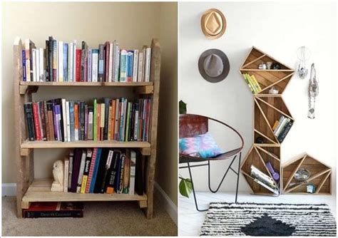 10 amazing bookcase ideas from recycled materials