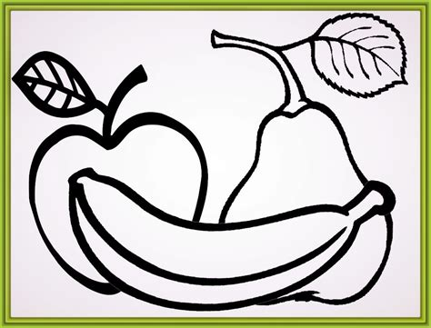 imagenes de frutas faciles para dibujar imagenes de frutas para dibujar archivos imagenes de frutas