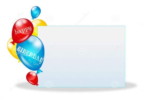 Blank Birthday Invitation Card Template by 73 Birthday Card Templates Psd Ai Eps Free
