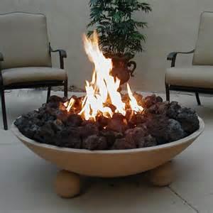 Gaslight Firepit Bowl