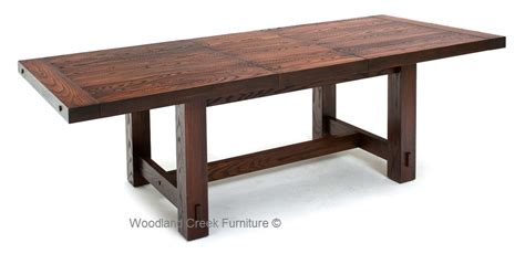 Solid Wood Refectory Table, Rustic Dining Table, Farmhouse