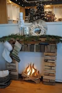mock fireplace ideas