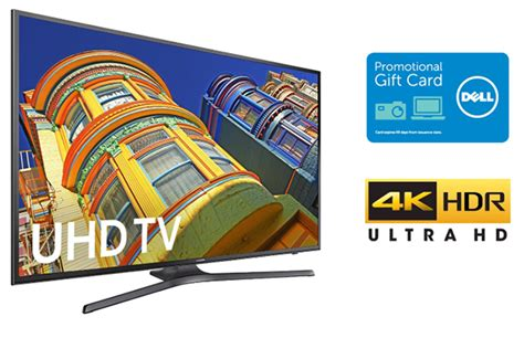 Dell Samsung Tv Gift Card Deal - get 4k tvs with best of web pricing and up to a 300 bonus gift card hothardware