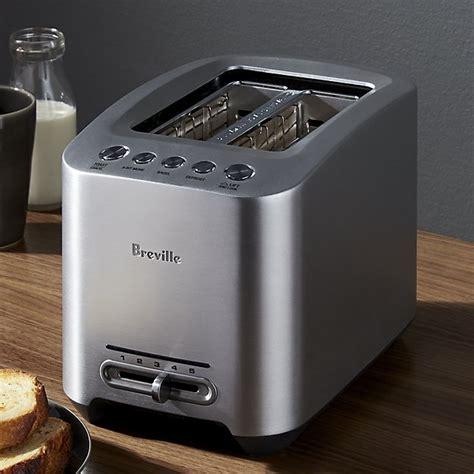 Brevelle Toaster Breville 174 Smarttoaster 2 Slice Toaster Crate And Barrel