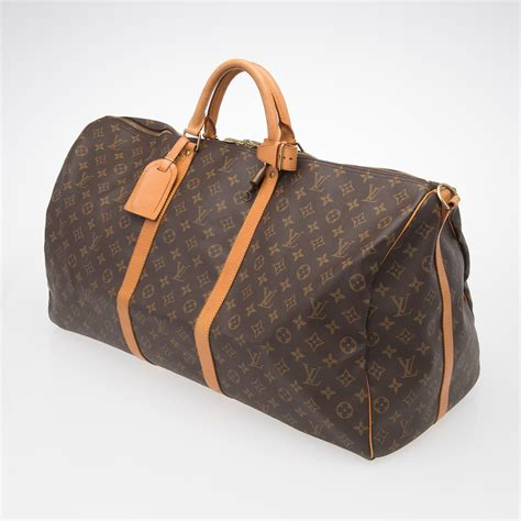 Chris Noth And Lots Of Louis Vuitton by Louis Vuitton Quot Keepall Bandouliere 60 Quot Laukku Bukowskis