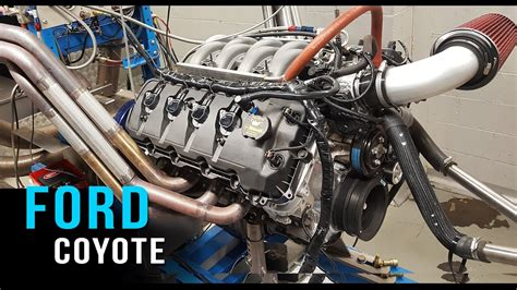 Ford Coyote Crate Engine by Ford Coyote V8 Crate Engine Dyno Test