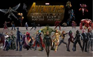 Infinity War Release Date Infinity War Release Date A Up Of Major